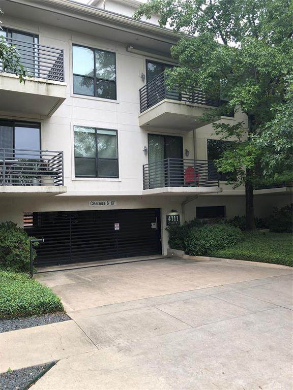 4111 Gilbert Avenue #102, Dallas, TX 75219 (MLS #14432914) :: The Kimberly Davis Group