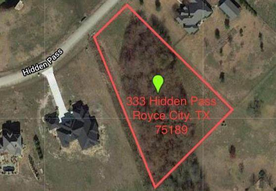 333 Hidden Pass, Royse City, TX 75189 (MLS #14438799) :: The Daniel Team