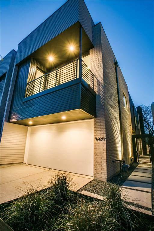 5427 Melrose Avenue, Dallas, TX 75206 (MLS #14439342) :: The Hornburg Real Estate Group