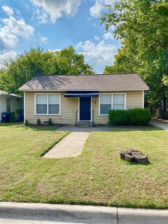 2021 Denison Street, Denton, TX 76201 (MLS #14443086) :: The Mauelshagen Group