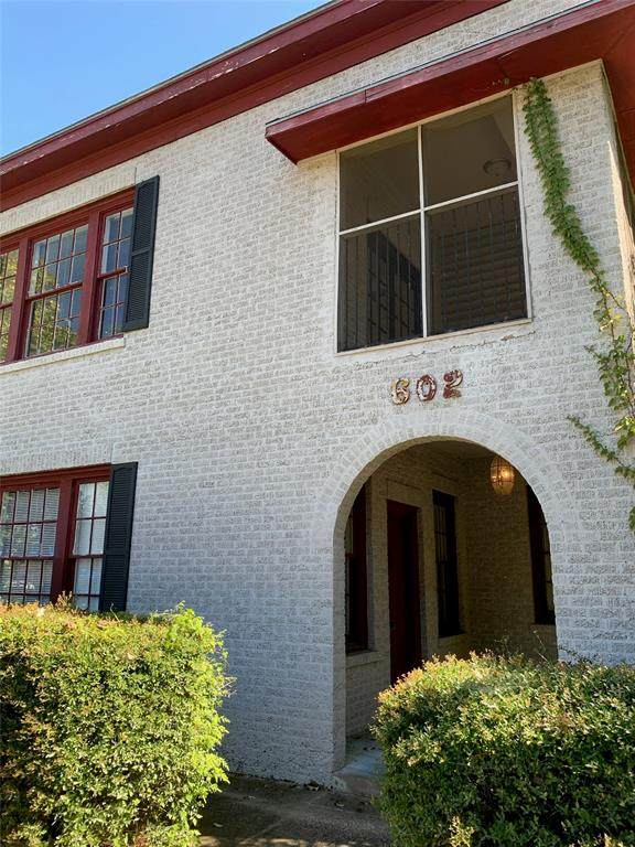 602 S Broadway Avenue, Tyler, TX 75701 (MLS #14447906) :: Real Estate By Design