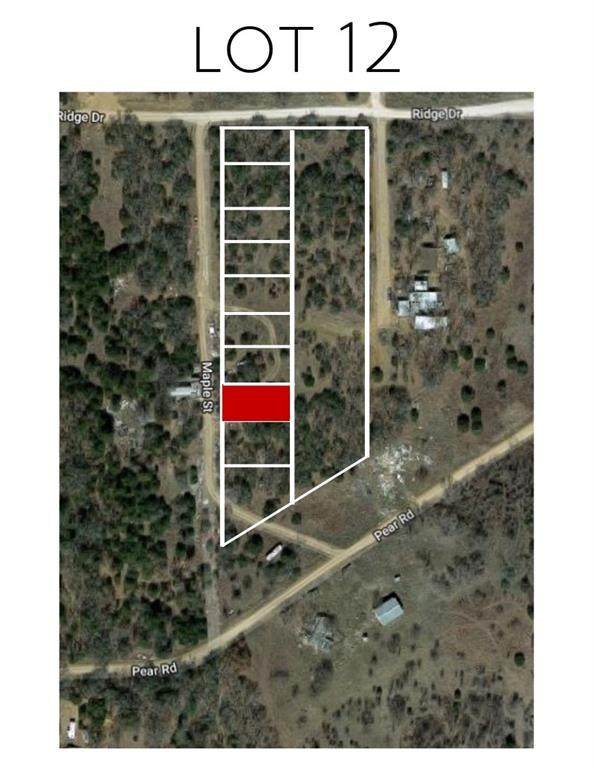 Lot 12 Maple, Bowie, TX 76230 (MLS #14451888) :: Team Hodnett