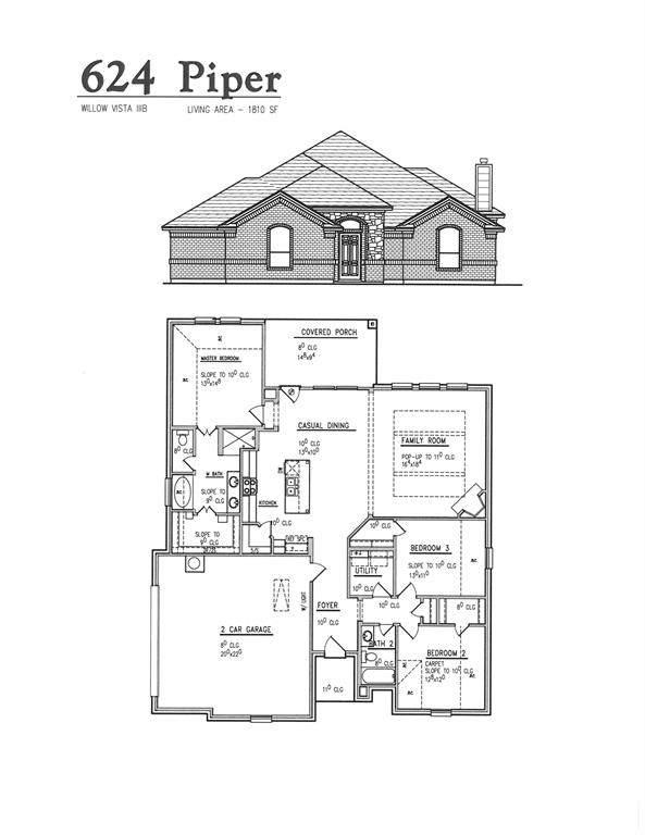 624 Piper Drive, Saginaw, TX 76179 (MLS #14452900) :: The Mauelshagen Group