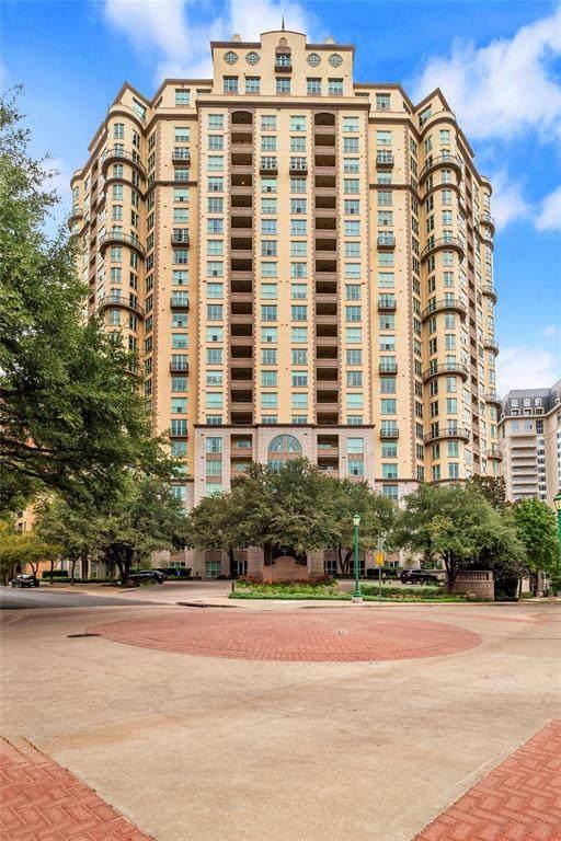 3401 Lee Parkway #509, Dallas, TX 75219 (MLS #14454759) :: The Tierny Jordan Network