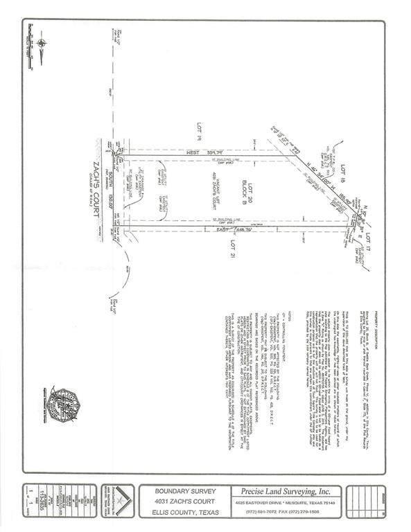 4031 Zachs, Midlothian, TX 76065 (MLS #14469111) :: The Mitchell Group
