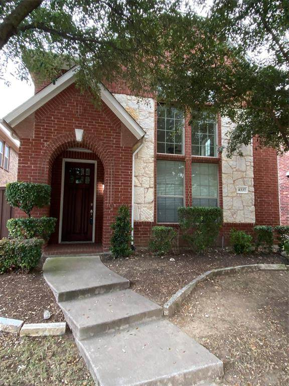 4337 Peregrine Way, Carrollton, TX 75010 (MLS #14491367) :: The Mauelshagen Group