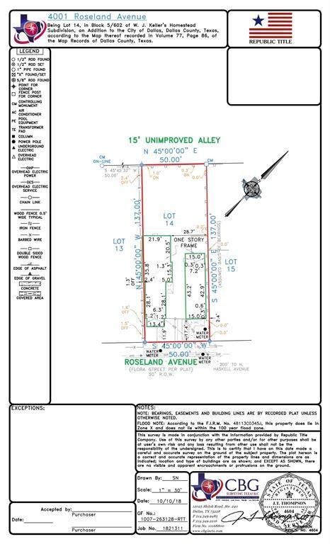 4001 Roseland Avenue, Dallas, TX 75204 (MLS #14499536) :: The Kimberly Davis Group