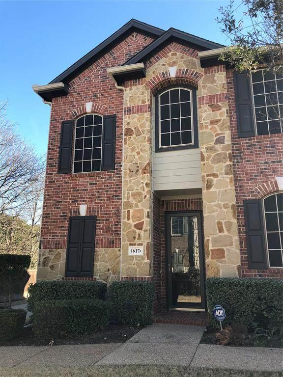 1617 Black Duck Terrace F, Carrollton, TX 75010 (MLS #14500527) :: The Good Home Team