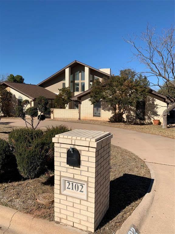 2102 Gathright Drive, Abilene, TX 79606 (MLS #14500724) :: The Hornburg Real Estate Group