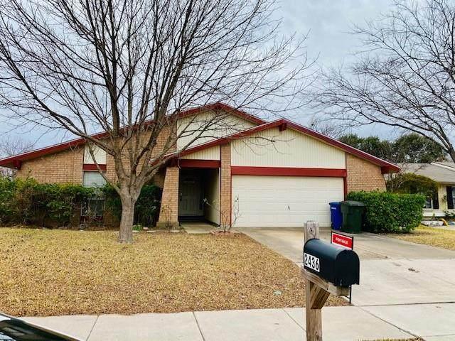 2436 Via Bonita, Carrollton, TX 75006 (MLS #14501923) :: The Mauelshagen Group