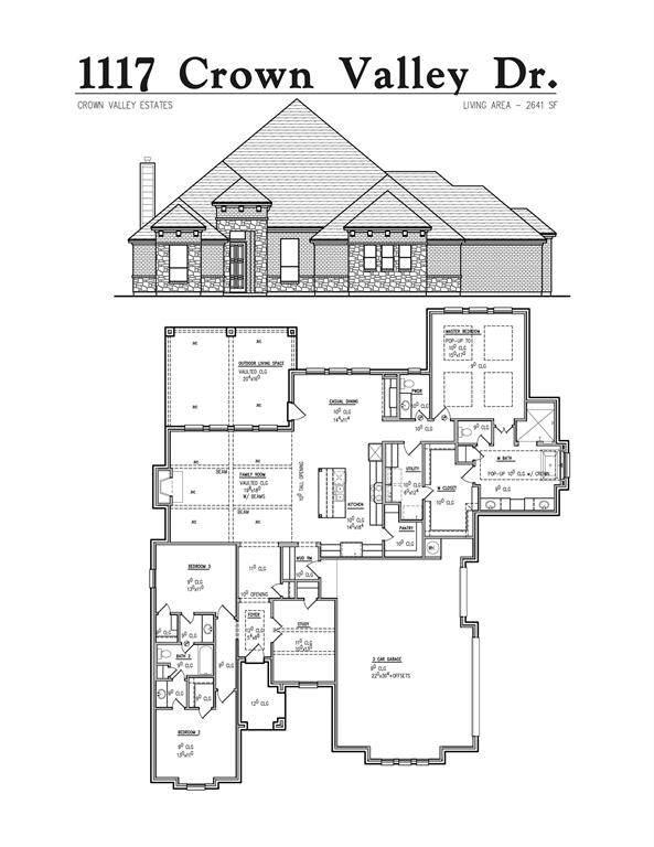 1117 Crown Valley Drive, Weatherford, TX 76087 (MLS #14502580) :: Robbins Real Estate Group