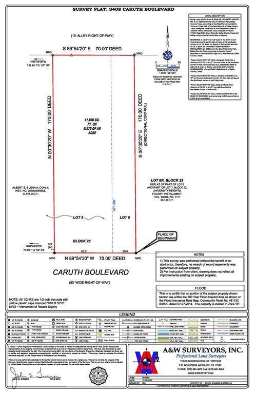 3408 Caruth Boulevard, University Park, TX 75225 (MLS #14502600) :: The Juli Black Team