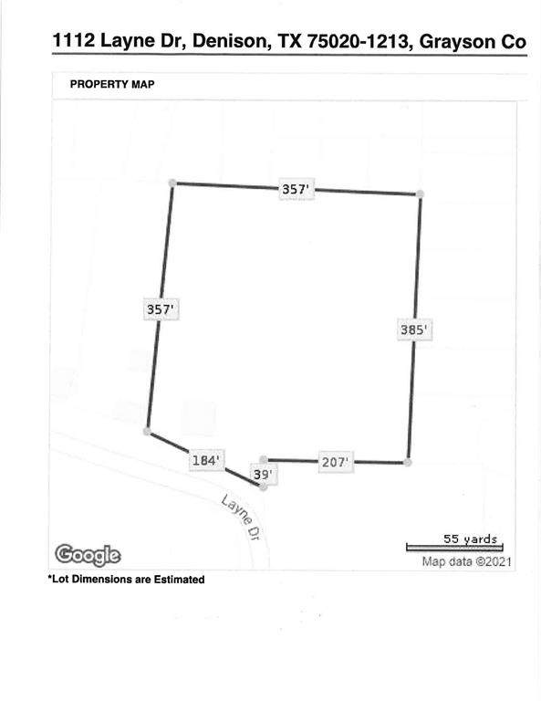 1112 Layne Drive, Denison, TX 75020 (MLS #14502645) :: The Kimberly Davis Group