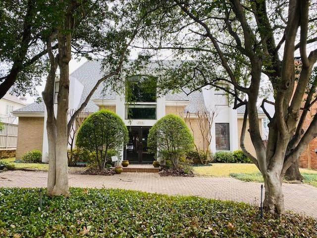 2916 University Boulevard, University Park, TX 75205 (MLS #14502664) :: The Mauelshagen Group