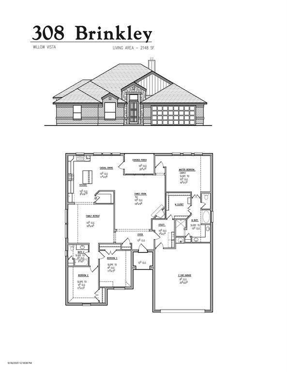 308 Brinkley Drive, Saginaw, TX 76179 (MLS #14505979) :: The Good Home Team