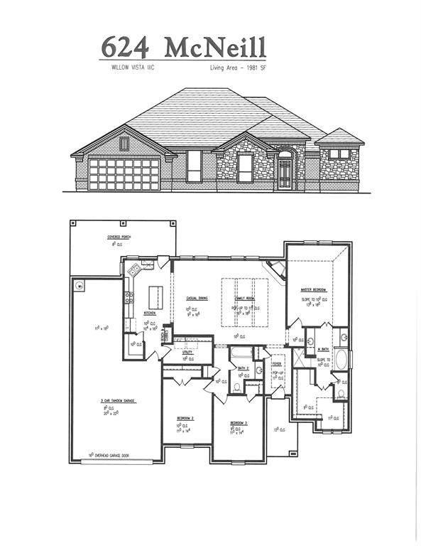 624 Mcneill Lane, Saginaw, TX 76179 (MLS #14506993) :: The Good Home Team