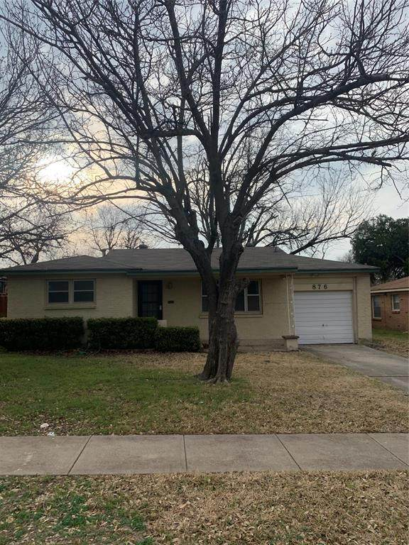 876 Odie Drive, White Settlement, TX 76108 (MLS #14507037) :: The Chad Smith Team