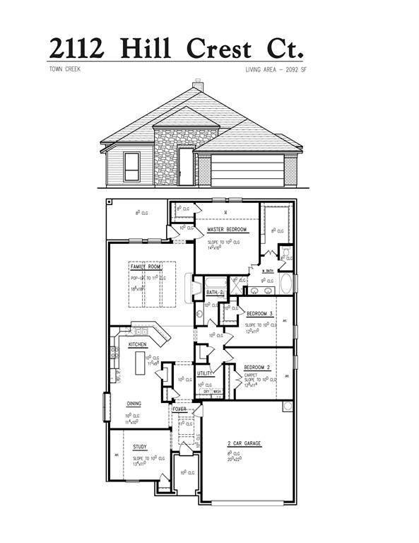 2112 Hill Crest Court, Weatherford, TX 76086 (MLS #14507043) :: Jones-Papadopoulos & Co