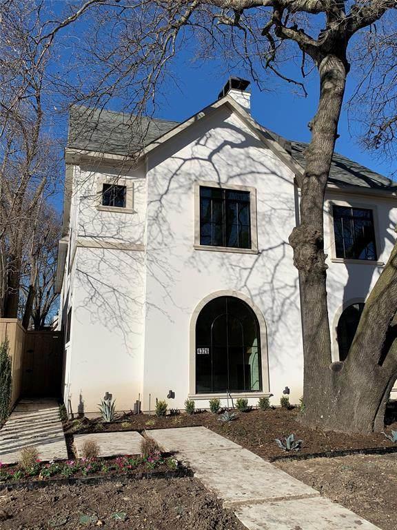 4326 Glenwick Lane, University Park, TX 75205 (MLS #14507087) :: The Good Home Team