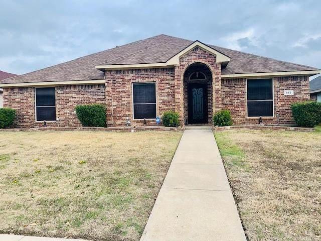 552 N Palomino Drive, Lancaster, TX 75146 (MLS #14509265) :: The Kimberly Davis Group