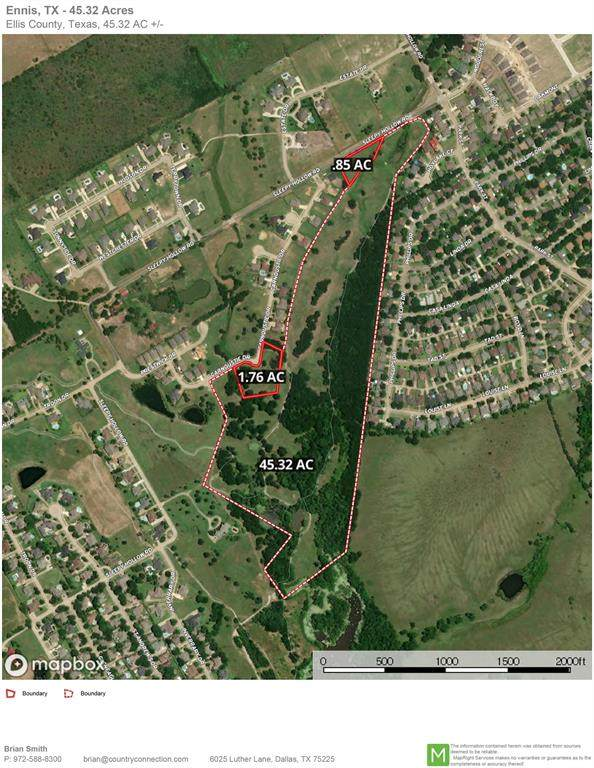 001 Sleepy Hollow Road, Ennis, TX 75119 (MLS #14516837) :: All Cities USA Realty
