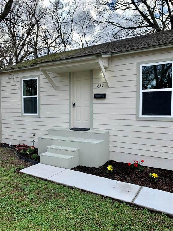 639 Cranford Street, Sulphur Springs, TX 75482 (MLS #14525324) :: Robbins Real Estate Group