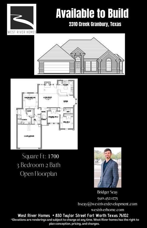 2310 Creek, Granbury, TX 76048 (MLS #14527369) :: The Tierny Jordan Network