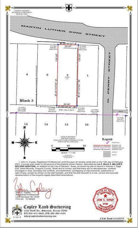 1204 Martin Luther King Street, Denison, TX 75020 (MLS #14527692) :: Premier Properties Group of Keller Williams Realty