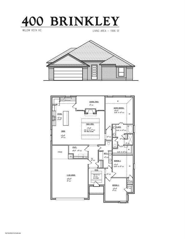 400 Brinkley Drive, Saginaw, TX 76179 (MLS #14530617) :: Team Hodnett