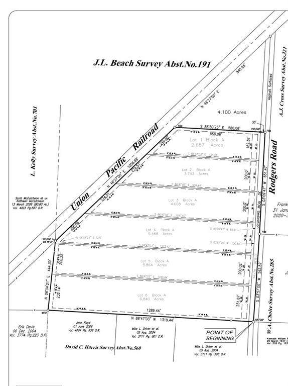Lot 2 Rodgers Road, Sadler, TX 76264 (MLS #14536913) :: DFW Select Realty