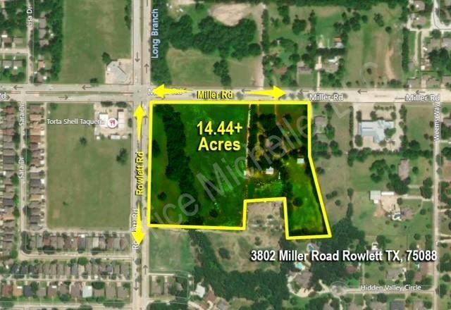 3802 Miller Road, Rowlett, TX 75088 (MLS #14543029) :: Premier Properties Group of Keller Williams Realty