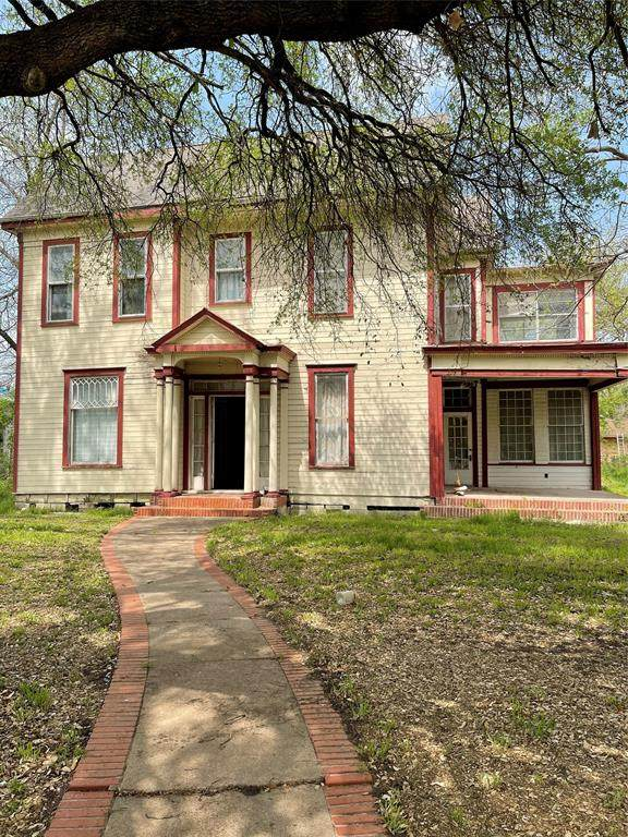 407 Capps Street, Marlin, TX 76661 (MLS #14545927) :: Real Estate By Design