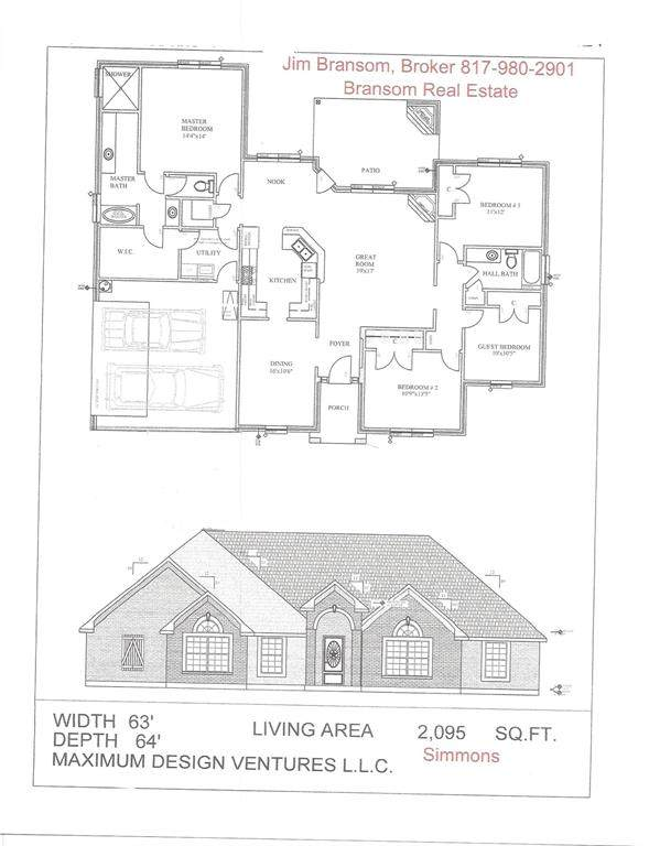 128 Cottongame Road, Weatherford, TX 76088 (MLS #14549127) :: Hargrove Realty Group