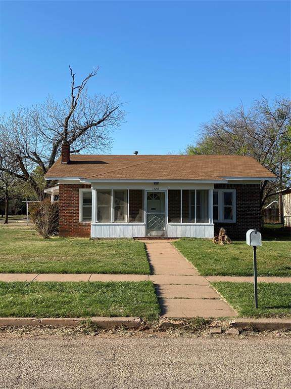 1720 Sandefer Street, Abilene, TX 79603 (MLS #14549405) :: Premier Properties Group of Keller Williams Realty