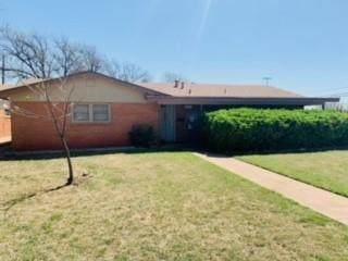 849 Fannin Street, Abilene, TX 79603 (MLS #14551237) :: The Chad Smith Team