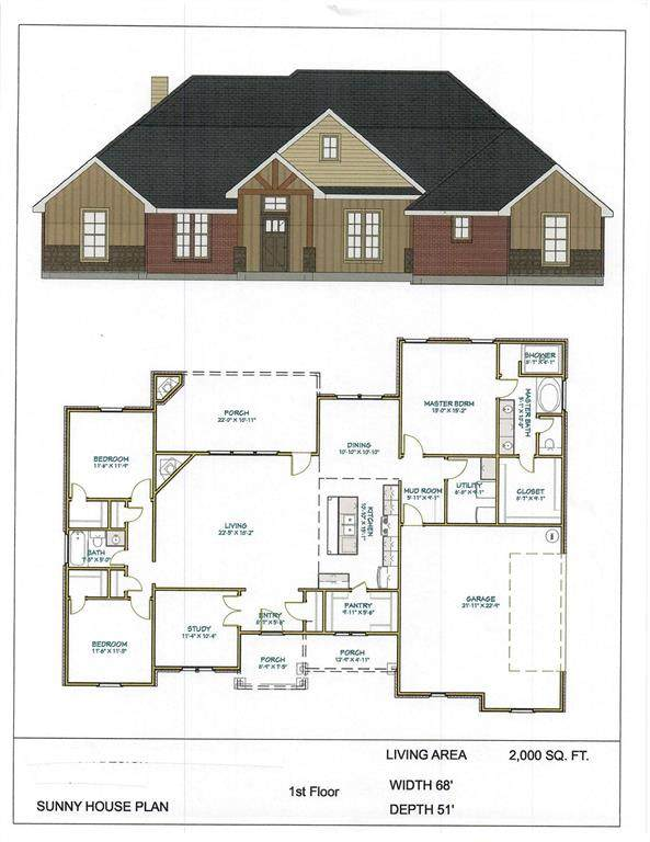 1001 Paradise Parkway, Poolville, TX 76487 (MLS #14552847) :: The Barrientos Group