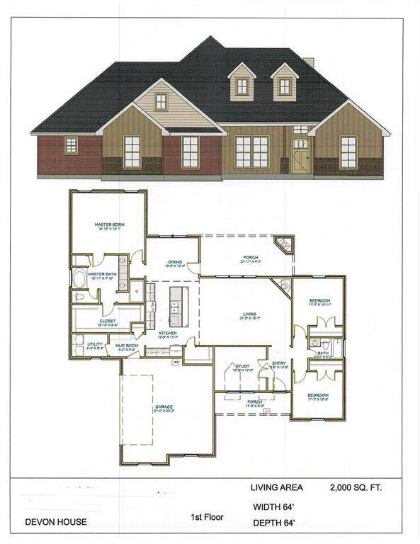 1004 Paradise Parkway, Poolville, TX 76487 (MLS #14552852) :: The Barrientos Group