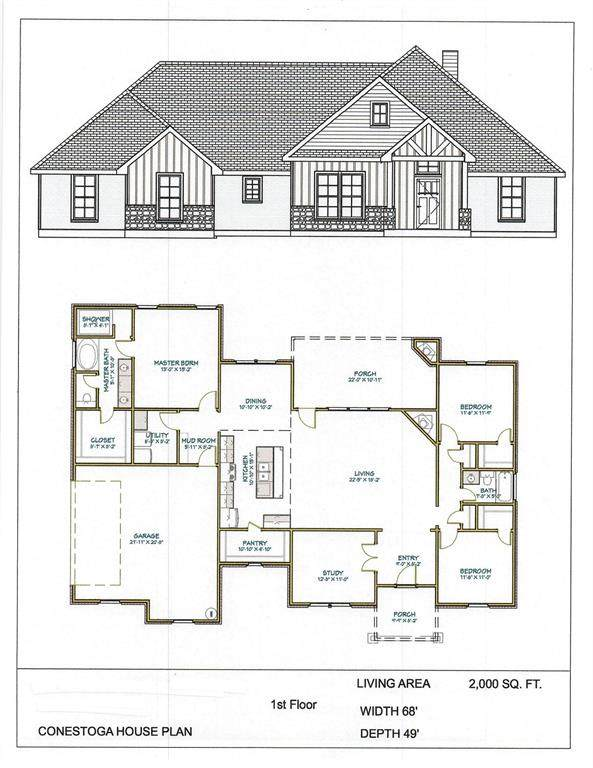 1005 Paradise Parkway, Poolville, TX 76487 (MLS #14552857) :: The Barrientos Group