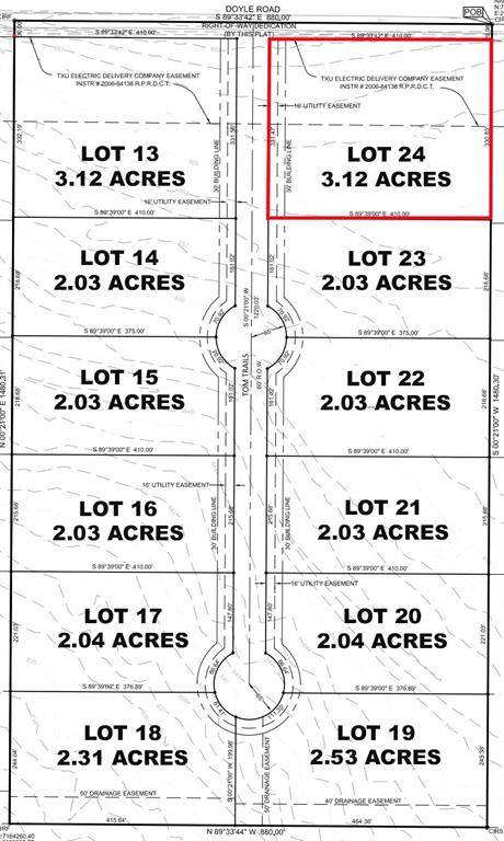 Lot 24 Tom Trails, Krum, TX 76249 (MLS #14557595) :: The Daniel Team