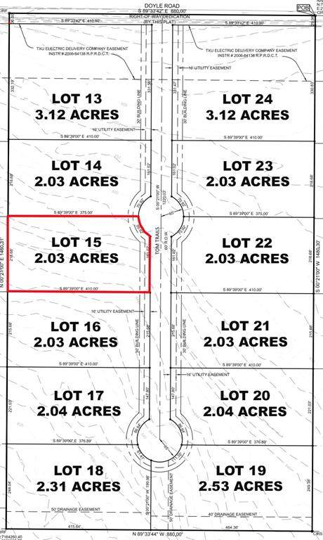 Lot 15 Tom Trails, Krum, TX 76249 (MLS #14557601) :: The Mauelshagen Group