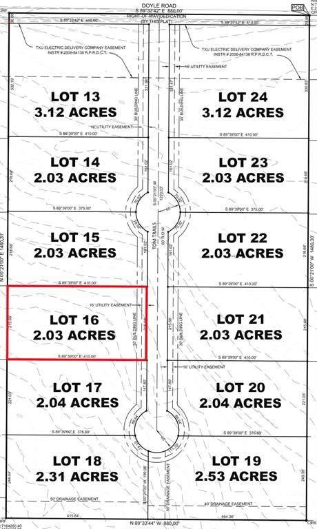 Lot 16 Tom Trails, Krum, TX 76249 (MLS #14557606) :: The Mauelshagen Group