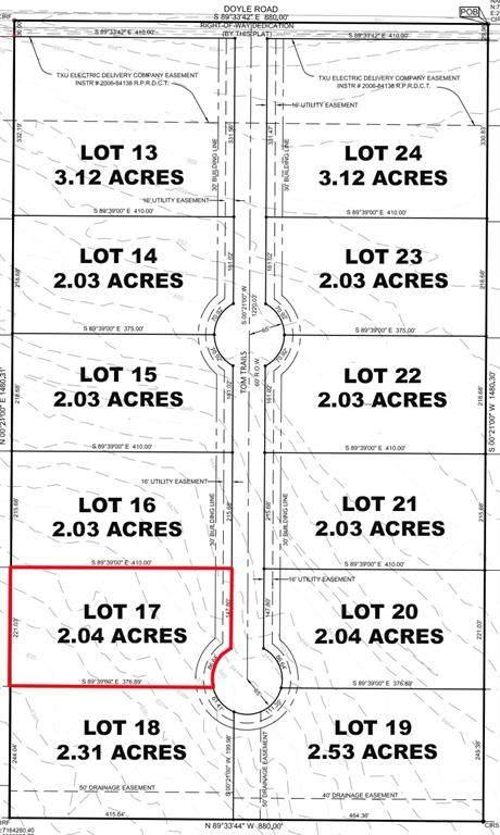 Lot 17 Tom Trails, Krum, TX 76249 (MLS #14557607) :: The Mauelshagen Group