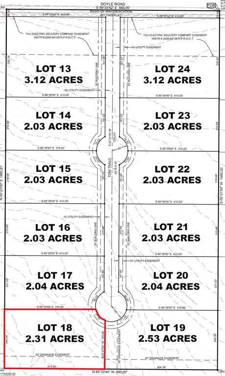 Lot 18 Tom Trails, Krum, TX 76249 (MLS #14557610) :: The Mauelshagen Group
