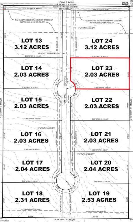 Lot 23 Tom Trails, Krum, TX 76249 (MLS #14557614) :: The Mauelshagen Group