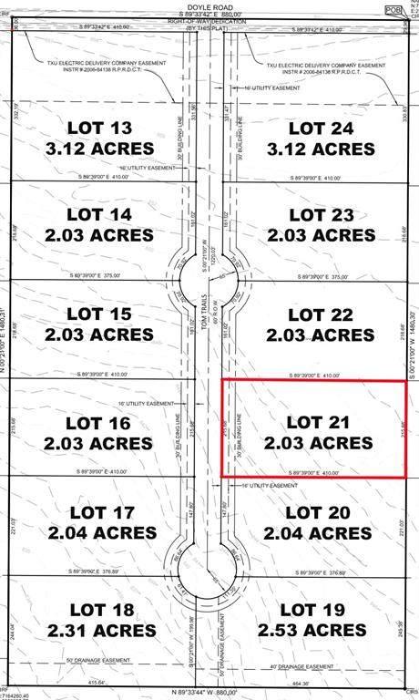 Lot 21 Tom Trails, Krum, TX 76249 (MLS #14557616) :: The Mauelshagen Group