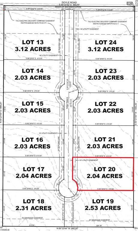 Lot 20 Tom Trails, Krum, TX 76249 (MLS #14557618) :: The Mauelshagen Group