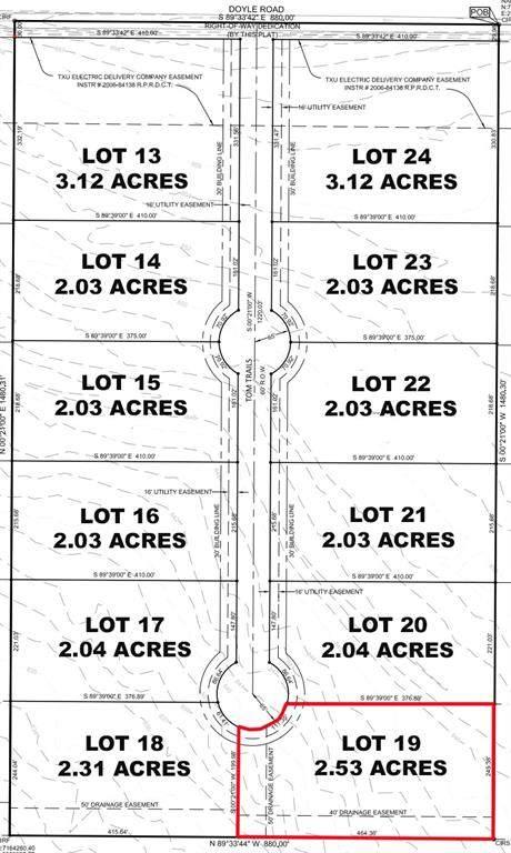 Lot 19 Tom Trails, Krum, TX 76249 (MLS #14557622) :: The Mauelshagen Group