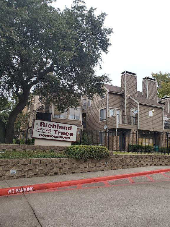 9805 Walnut Street C109, Dallas, TX 75243 (MLS #14557826) :: Team Hodnett