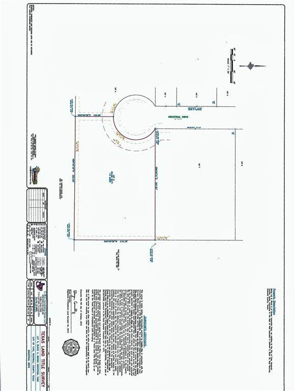 Lot 6 Industrial Drive, Fate, TX 75087 (MLS #14560729) :: The Chad Smith Team