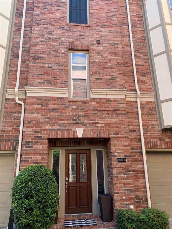 3610 Gillespie Street #2, Dallas, TX 75219 (MLS #14561267) :: The Mauelshagen Group